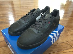 Brand new adidas powerphase calabasas Yeezy Black size 10.5 for Sale in Sterling, VA