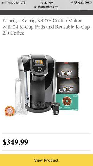 KEURIG HOT 2.0 K425S Plus Series single serve plus coffee maker for Sale in Los Angeles, CA