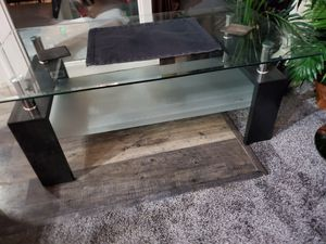 COFFEE TABLE GLASS for Sale in Denver, CO
