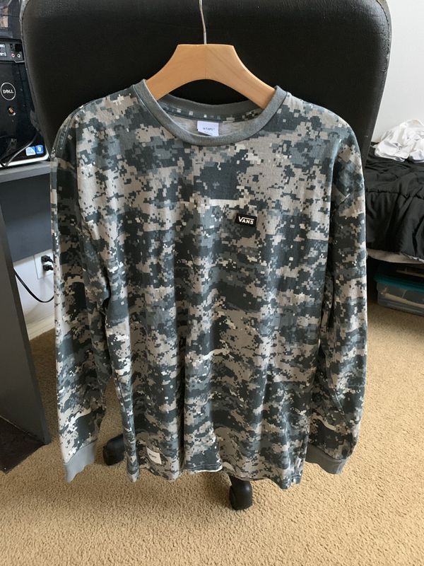 WTAPS x Vans Collaboration long sleeve size L