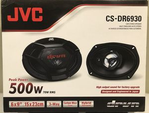 """New JVC 6x9"""" inch 500 Watts Car Audio Speakers (pair) 🔊🔊🔥 for Sale in Hemet, CA"""
