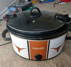 Texas Longhorns Crock-Pot Cook & Carry Slow Cooker for Sale in Fort Worth, TX