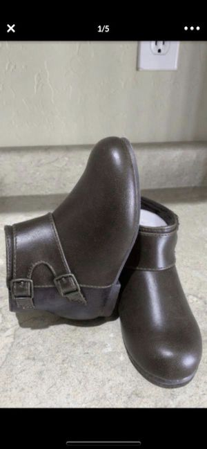 Brand new Gymboree girl brown booties/ boots size 9 $16firm for Sale in Laveen Village, AZ