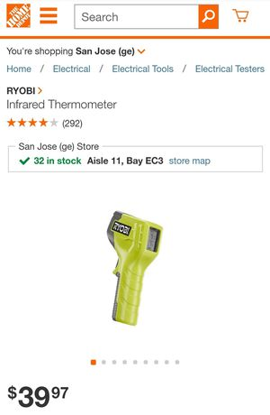 RYOBI Infrared Thermometer for Sale in Mountain View, CA