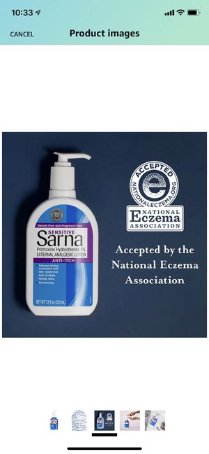 Sarna Sensitive Anti-Itch Moisturizing Lotion for Sale in El Cajon, CA