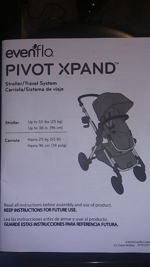 Evenflo baby stroller & carrier 2 in 1 for Sale in Converse, TX