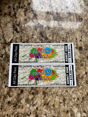 Paintball All Day Passes for Sale in Canton, GA