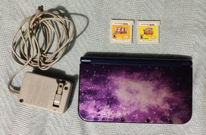 Nintendo 3DS XL Galaxy Edition W/ 2 Games for Sale in Fort Worth, TX