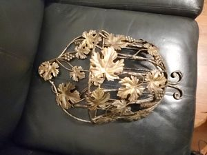 beautiful metal wall decoration/plant holder for Sale in Baltimore, MD