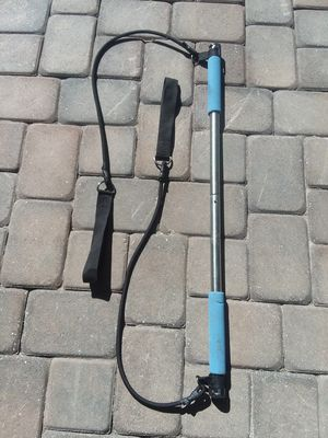 Fitness Resistance Bands / Toning Bar Trainer for Sale in Santa Clara, CA