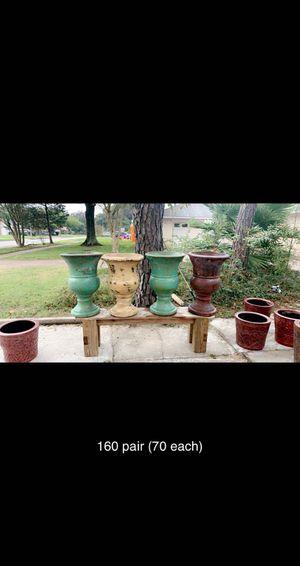 Flower pots for Sale in La Porte, TX