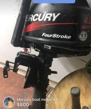 2007 Mercury 4.0 boat motor for Sale in Vallejo, CA