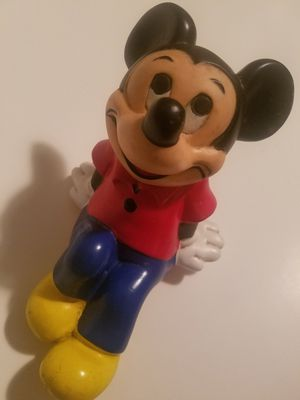 Vintage Plastic Mickey Mouse for Sale in South Windsor, CT