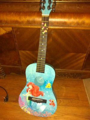 Ariel the little mermaid guitar for Sale in Cleveland, OH