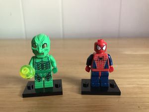 *RARE* LEGO Spider Man and Green Goblin (2002-2003) for Sale in Newton, KS