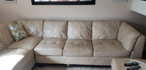 Used Leather Sectional Couch for Sale in San Diego, CA