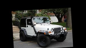 I sell 2004 Jeep Wrangler 4WDWheels One Owner for Sale in Joliet, IL