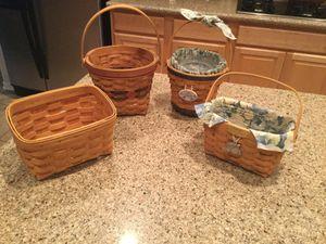 Longaberger Baskets for Sale in Spring, TX