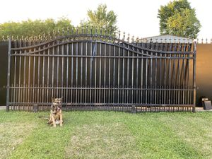 Arch Iron Sliding Gate for Sale in Houston, TX