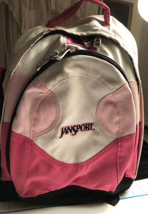 Jansport Backpack 🎒 Pink & white for Sale in Phoenix, AZ