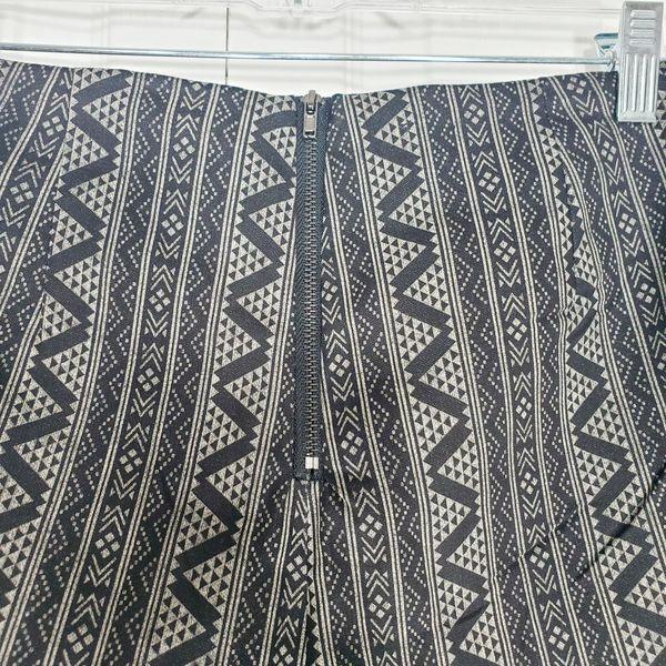 Very J fringe hem printed shorts