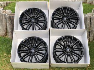 "19"" Audi S4 A4 Black OEM new wheels rims for Sale in Huntington Beach, CA"