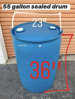 55 gallon sealed drums tent hold downs for Sale in Fort Lauderdale,  FL