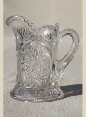 tiny pressed pattern glass pitcher for Sale in Wyoming, MI