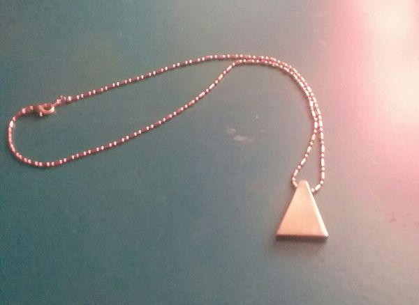 Sterling silver necklace and pendants