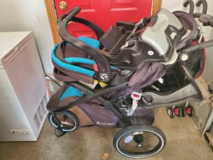 Babytrend Stroller with Seat and Base for Sale in Norton, OH