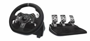 Logitech - G920 Driving Force Racing Wheel for Xbox One and Windows - Black for Sale in New York, NY