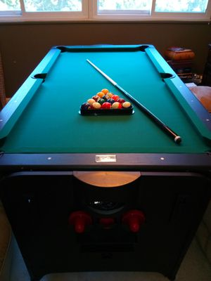 Fat Cat Original 2-in-1, 7-Foot Pockey Game Table (Pool (Billiards) & Air Hockey) for Sale in Baltimore, MD
