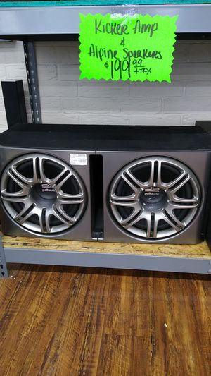"""Polk audio 12"""" subwoofers for Sale in Garland, TX"""