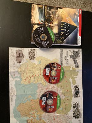 Assassins Creed Origins and Red Dead Redemption 2 Xbox one for Sale in Irwin, PA
