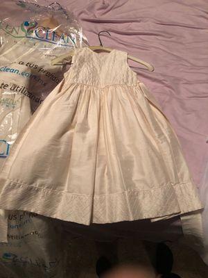 Silk Nordstrom wedding, baptism dress size 2 for Sale in National City, CA