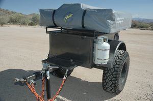 Off-road Jeep trailer with rooftop tent for Sale in Gilbert, AZ