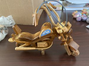 Brand new Harley Davidson Motorcycle Wooden Handmade for Sale in Rowland Heights, CA