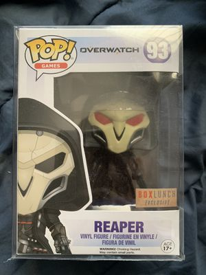 Translucent Reaper FUNKO POP Overwatch Box Lunch Exclusive for Sale in Moreno Valley, CA