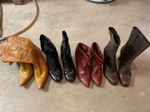 Leather boots for Sale in Kenosha, WI