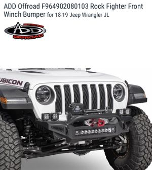 Jeep JL ADD Offroad Rock Fighter Front Winch Bumper for 18-19 for Sale in Corona, CA