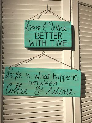 Wine signs / hand made for Sale in Durham, NC