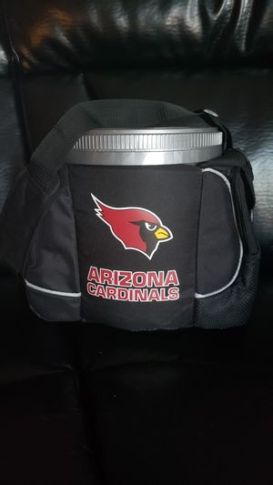 BRAND NEW MEDIUM AZ CARDINALS PAK CHEST COOLER HOLDS 24 CANS...PU VAL VISTA AND WARNER for Sale in Gilbert, AZ