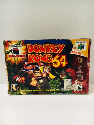 DONKEY KONG 64 BOXED for Sale in Garden Grove, CA