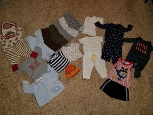 Baby boy Clothing lot 0-3 Months [ 24 pieces ] for Sale in Virginia Beach, VA