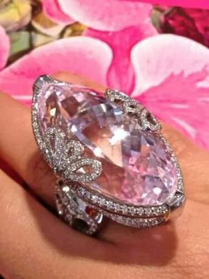*New Arrival* Beautiful Created Pink Sapphire Cocktail Ring Jewelry Size 8 *See My Other 300 Items* for Sale in Palm Beach Gardens, FL