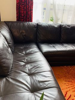 Genuine Leather Sofa for Sale in Seattle,  WA