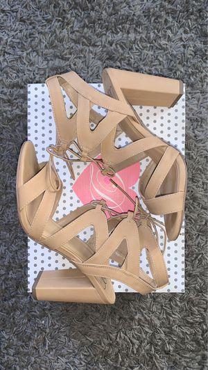 Women's Tan Strappy Heels for Sale in Los Angeles, CA