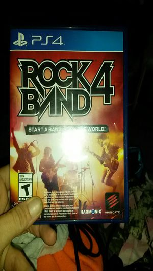 ps4 games rock 4 band ,,, dimensions for Sale in Auburndale, FL