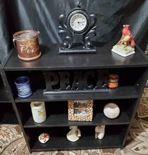 Expresso Bookshelf With 2 Adjustable Shelves for Sale in Cranberry Township, PA