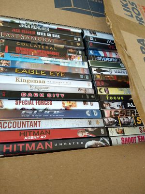 THOUSANDS OF DVD'S ALL FOR 1 PRICE!!! for Sale in Miami, FL